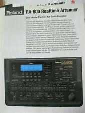 Midi Expander Roland RA 800 Top mit Ständer Realtime Arranger NP 1300.-