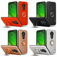 For MOTOROLA MOTO G7 PLAY Ring Phone Case Cover