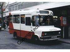 BUS PHOTO: RED & WHITE FORD TRANSIT 258 C108HKG