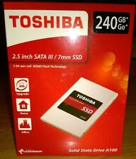 Toshiba A100 240GB Solid State Drive SSD 2.5 Inch 6.0 Gb/s - THN-S101Z2400E8,7mm
