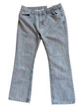 Denim Co. Men's Grey Jeans W36 L32 Bootcut Zip Fly