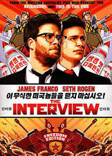The Interview (DVD, 2015) - NEW!! Sealed