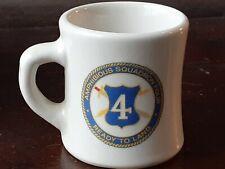 Vintage U.S. NAVY AMPHIBIOUS SQUADRON FOUR VICTOR Coffee MUG Patrick