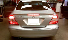 NO ERROR 03-09 MERCEDES BENZ W209 CLK CLASS AMG RED/SMOKE LED TAIL LIGHT
