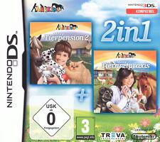NUR MODUL 2 Spiele Meine Tierarztpraxis Tierpension 2 Land Nintendo DS DSi 3DS M