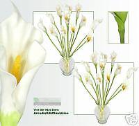 """24 34"""" (L) CALLA Lilies  Artificial Silk Flower Wedding"""