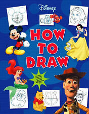Disney How to Draw, Acceptable, , Book