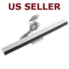 USB Wired Infrared Ray IR Sensor Bar For Nintendo Wii / Wii U / PC + Stand