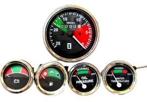 Massey Ferguson Tractor - Tachometer + Temp + Oil Pressure +AMP +Fuel Gauge