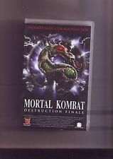 K7 cassette video Mortal Kombat destruction finale -