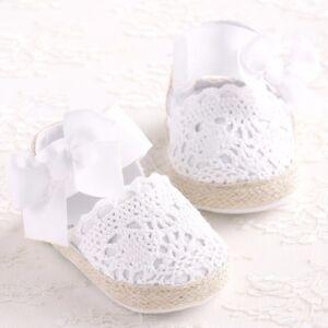 Baby Infant Kids Girl Soft Sole Crib Toddler Newborn Shoes 0-18 M anti-slip NEW