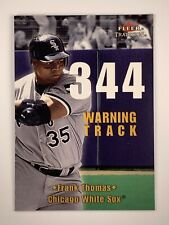 2001 Fleer Tradition Warning Track #13WT Frank Thomas Chicago White Sox Card