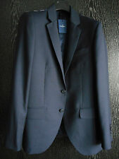 New HACKETT LONDON navy English Wool Plain MAYFAIR jacket 40R/50R RRP 375 POUNDS