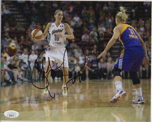 SUE BIRD signed WNBA 8x10 photo AUTOGRAPH auto JSA Seattle Storm UCONN Olympics