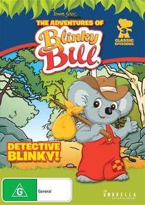 Blinky Bill - Detective Blinky (DVD) Australia Region 4- NEW & SEALED