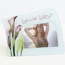 Special Sister Picture Photo Frame - Birthday Gift Idea for your Sister, Family