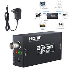 3G HDMI to SDI display Converter  Adapter 2.970 Gbit/s Input Output Port BNC NEW