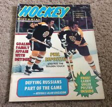 1973 Hockey Pictorial March Issue Phil Esposito Cover