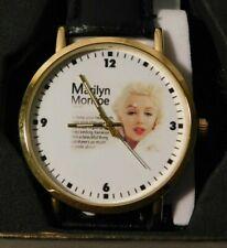 Vintage Marilyn Monroe Wristwatch Watch MINT IN THE BOX RUNS WELL