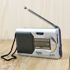 AM/FM Mini Portable World Receiver Radio Pocket Battery Powered Telescopic Radio