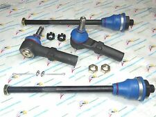 NEW 4 Tie Rod Ends Inner & Outer ES3488 & ES3609
