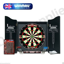 Winmau Blade 5 Lakeside Professional Dartboard with Deluxe Cabinet and Darts