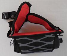 NIKE Vapor Hydration 1 Bottle WaistPack Black/Cool Grey/Light Crimson OSFM New