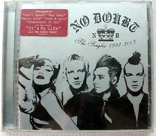 NO DOUBT THE SINGLES 1992 - 2003 CD NEW  + BONUS TRACK