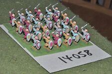 15mm medieval / turkish - seljuk swordsmen 24 figs - inf (14058)