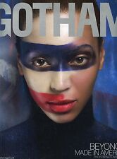 BEYONCE  [ RARE GOTHAM MAGAZINE ]  NOV 2008  BRAND NEW UNREAD MINT