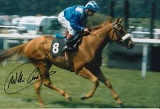 Willie Carson Hand Signed 12X8 Photo Horse Racing 2.