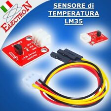 LM35 SENSORE TEMPERATURA ANALOGICO LM35Dz chip Temperature Module Arduino PIC