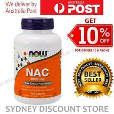 Now Foods N-Acetyl-Cysteine 1000 mg 120 - 360 Tablets NEW