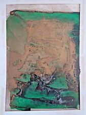 Nguyen Manh Duc Ducman signed abstract composition c. 1950-60 INV 2656