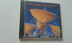 DIRE STRAITS On the Night RARE ISRAELI CD 1993, OOP
