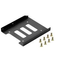 Per SATA Metallo 6.3cm a 8.9cm Supporto Disco Rigido SSD Stato Solido Vassoio