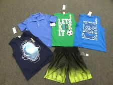 BOY'S SIZE 7 CLOTHING LOT **SHORTS & SHIRTS** NWT **20 PIECES IN ALL**
