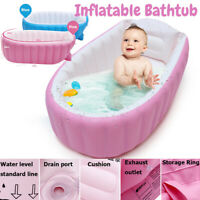 Portable Inflatable Bathtub Thickening Folding Washbowl Tub Baby Swimming Pool