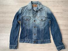 Levis Jeans Jacke Jacket Trucker Denim Rock Vintage Blau Blue Damen Girl 70500 M