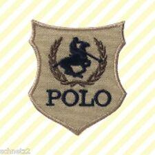 Aufbügler♥Aufbügelmotiv♥Patch♥Polospieler groß Wappen ♥Aufnäher♥NEU
