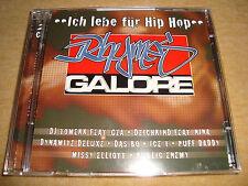 RHYMES GALORE  (2 CDs)  DJ TOMEKK GZA DEICHKIND DYNAMITE DELUXE DAS BO ICE-T