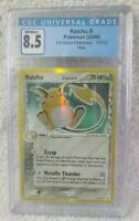CGC Raichu Pokemon (2006) EX Holon Phantoms 15/110 Holo Graded 8.5 NM/Mint+