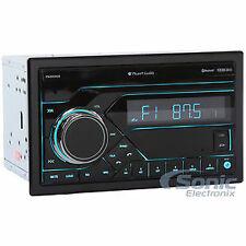 Planet Audio PB455RGB 2 DIN Bluetooth In-Dash Digital Media Car Stereo Receiver