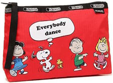 Lesportsac Peanuts Snoopy Fun with Friends Clutch Hand Bag Essential Wristlet