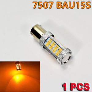 Strobe Amber 7507 BAU15S PY21W 92 LED Projector Bulb Front Signal Y1 JP USA N