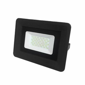 OPTONICA FARETTO LED 30W 6000K 2400 LUMEN BLACK BODY
