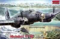 Heinkel He-111B German bomber airplane 1937 WWII (Model kit) 1/72 Roden RN005