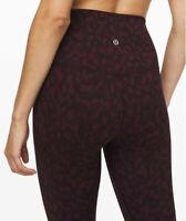 "RARE Lululemon Women's Align HR Pant 28"" Formation Camo Dark Adobe FCDA sz 10"