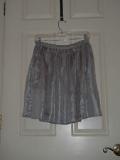SMALL S Anthropologie Corey Lynn Calter Parhelia Paper Bag Skirt Bronze