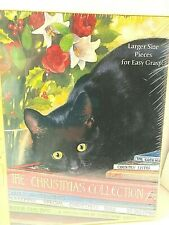 Easy Grasp Puzzle Black Cat 500 pc Christmas Collection Sealed New Snelling